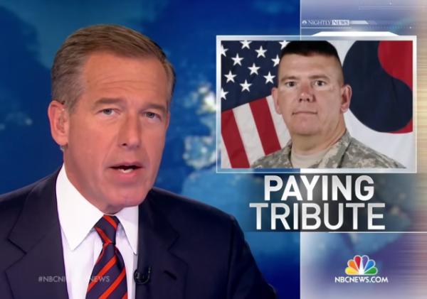 Brian Williams Lied About Being Shot Down RPG Hellicopter NBC News Achor Lied