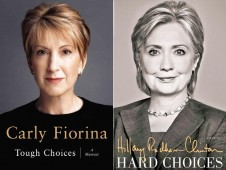 Carly Fiorina Hillary Clinton Book Covers Tough Choices Hard Choices