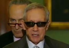 Harry Reid DHS Funding Shut Down Sunglasses
