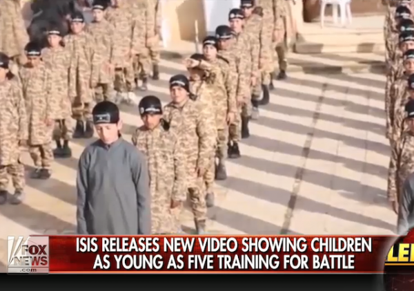 ISIS video children boot camp