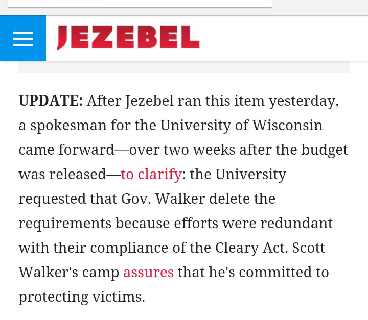 Jezebel Scott Walker Sexual Assault Reporting Update 1