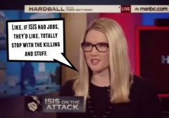 Marie Harf ISIS Chris Matthews We can't kill our way out of this war