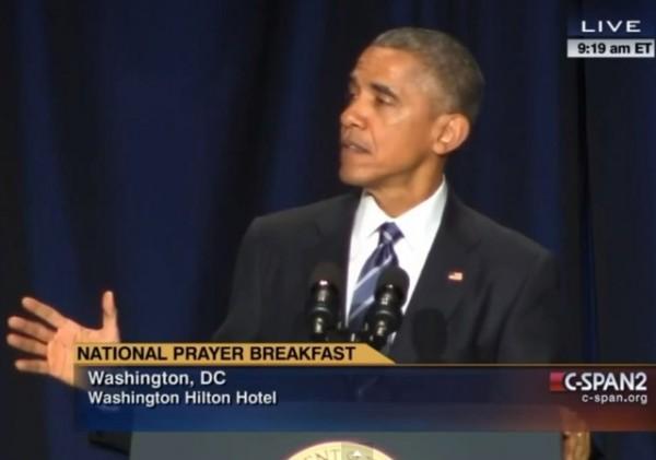 Obama National Prayer Breakfast