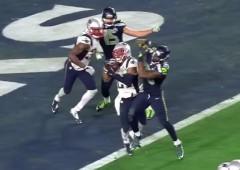 Patriots winning interception Super Bowl