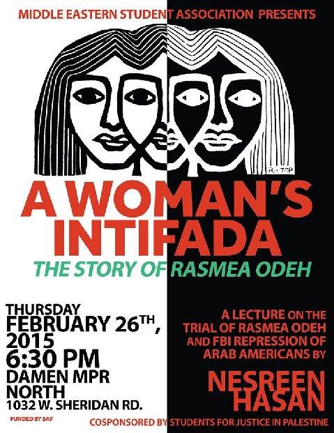 Rasmea Odeh A Woman's Intifada Loyola MESA