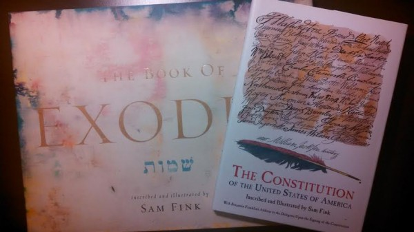 Sam Fink Exodus The Constitution