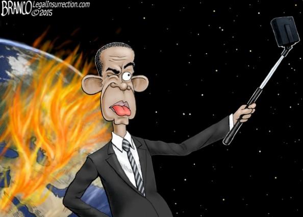 Obama Selfie Stick Video