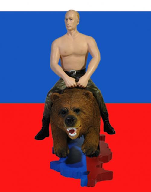 Valentine S Day Vladimir Putin Riding Bear Russia