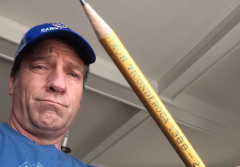 mike rowe pencil