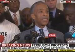 Al Sharpton in Ferguson