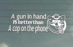 Bumper Sticker - Colorado - Gun in Hand