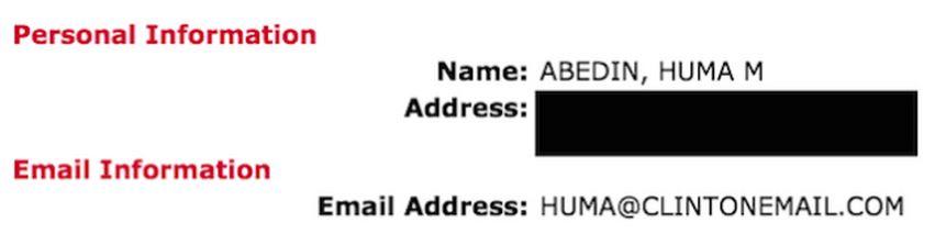 Gawker Hillary Email Address Huma