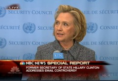 Hillary Email Press Conference 3
