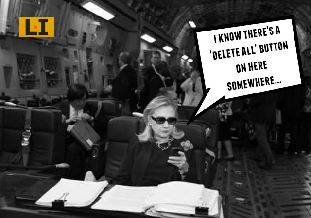 Hillary clinton emails deleted no one read them scandal blackberry foreign government