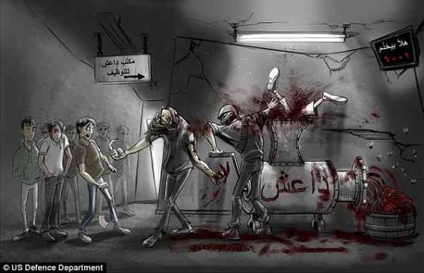 ISIS meat grinder original
