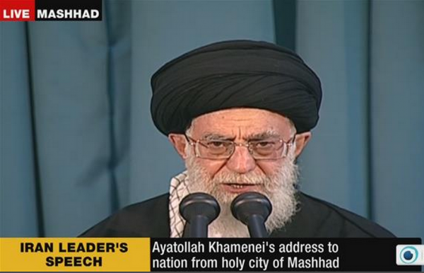 Iran Press TV Ayatollah Khameini address Norouz nuke talks