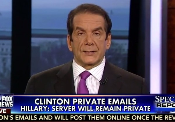 Krauthammer Clinton Emails