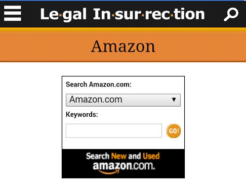 Legal Insurrection Mobile Amazon