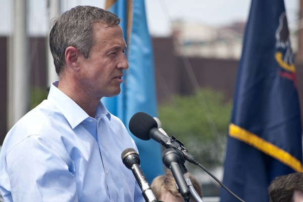 Maryland Governor Martin O'Malley