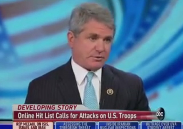 House Homeland Security Chair: ISIS Terrorists are Inside U.S.