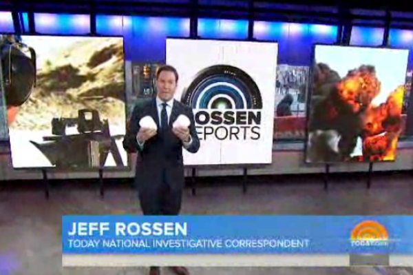 NBC Today Show Jeff Rosen Tannerite
