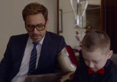 Robert Downey Jr Iron Man Bionic Arm kid Bionic arm