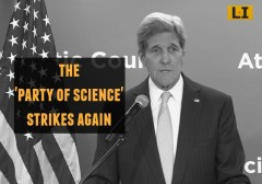 Secretary of State John Kerry Party of Science Climate Change Deniers immoral global warming scam