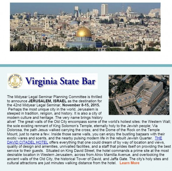 http://myemail.constantcontact.com/42nd-Midyear-Legal-Seminar---JERUSALEM--ISRAEL---REGISTER-BY-APRIL-1-.html?soid=1111187925215&aid=0Z9htbr8awM