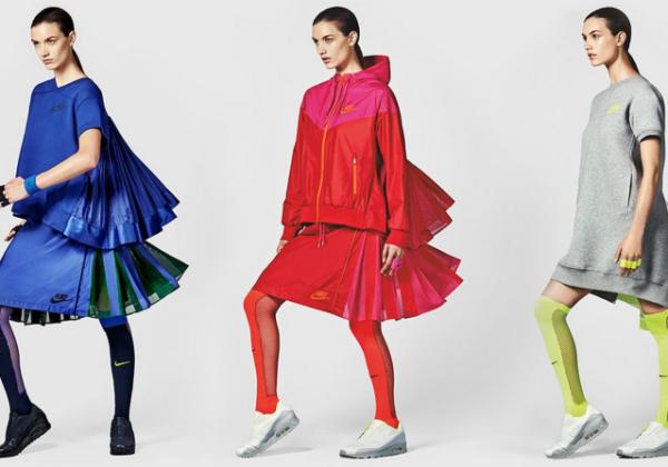 nike clothing line sacai nike lab feminists lace capes fitness fashion