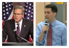 scott walker jeb bush new hampshire poll suffolk university poll