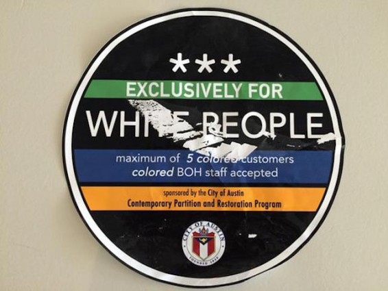 white people sticker