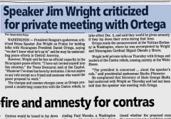 wright meeting ortega