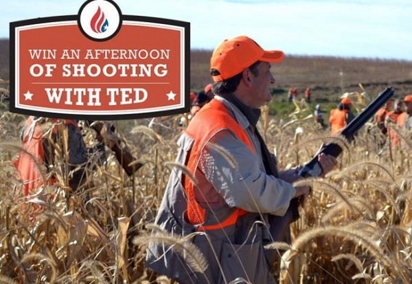 Afternoon of shooting with Ted Cruz