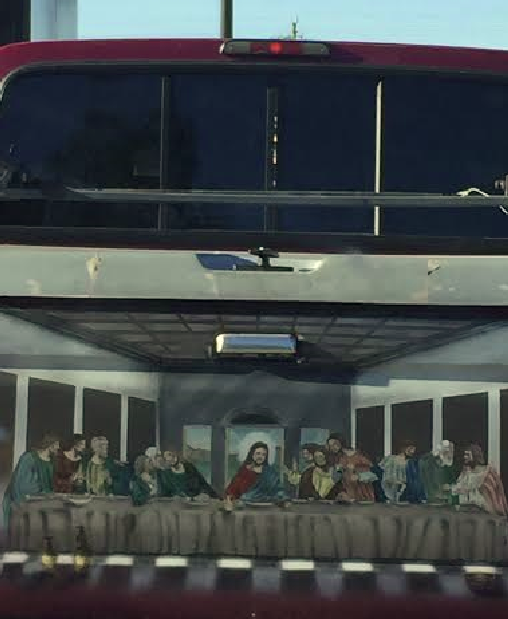 Bumper Sticker - Palmetto FL - Last Supper