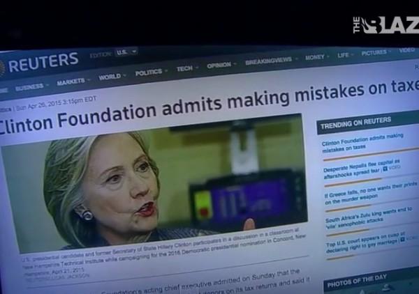Clinton Foundation Taxes