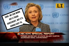 Hillary Clinton Clinton Foundation Columbia Oil Company Scandal Secretary of State