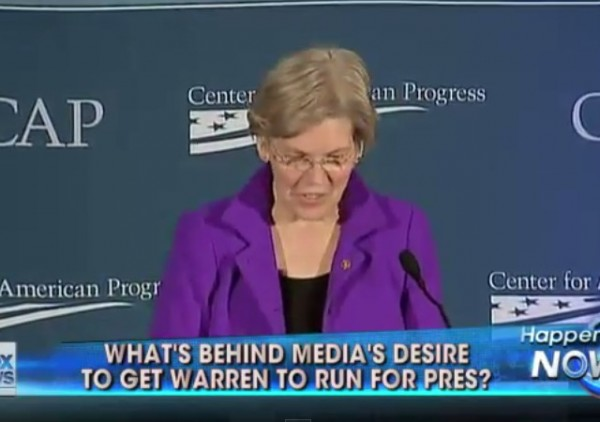 Media and Elizabeth Warren