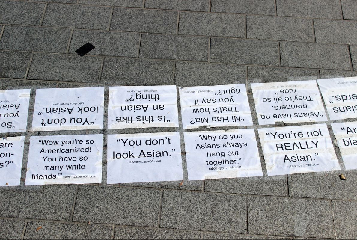 Brandeis Asian Students Association Microaggression