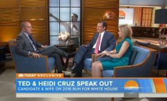 Ted and Heidi Cruz on The Today Show