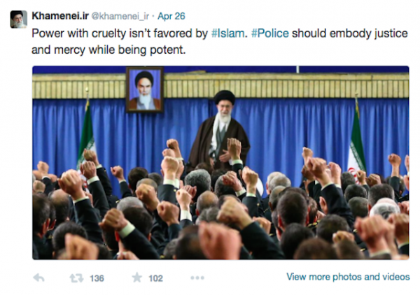 ayatollah tweet baltimore