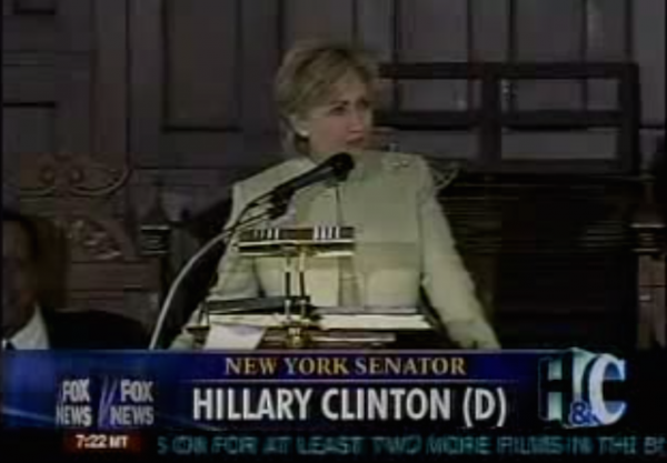 hillary clinton fake southern accent 2007