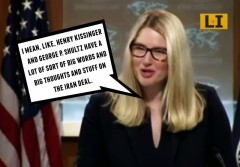 marie harf henry kissinger state department spokeswoman big words and big thoughts