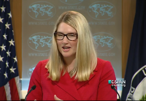 marie harf state department BLANK