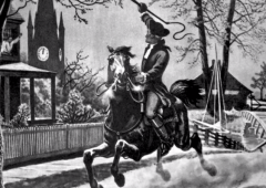 paul revere midnight ride 240 years