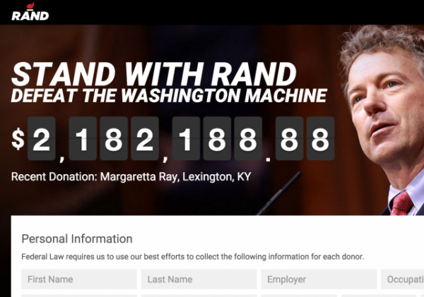 rand paul ted cruz marco rubio presidential campaign donations