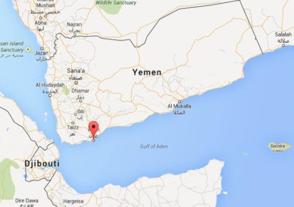 yemen map aden