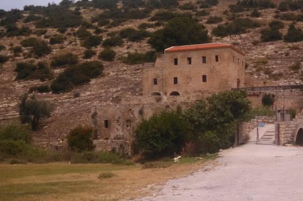 Abandoned Carmelite Monestary near Khawaled Village