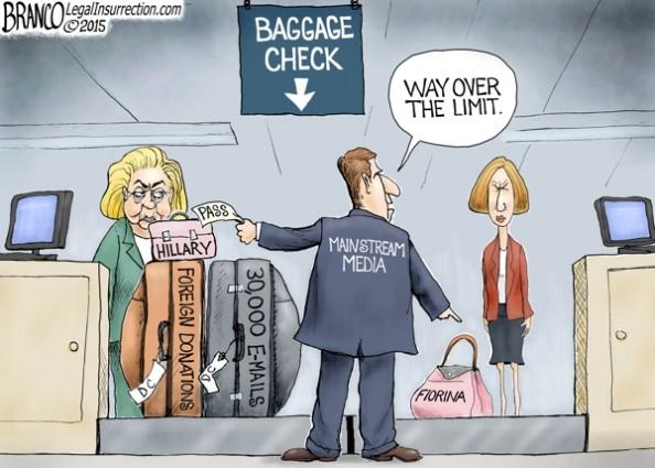 Hillary Clinton Baggage