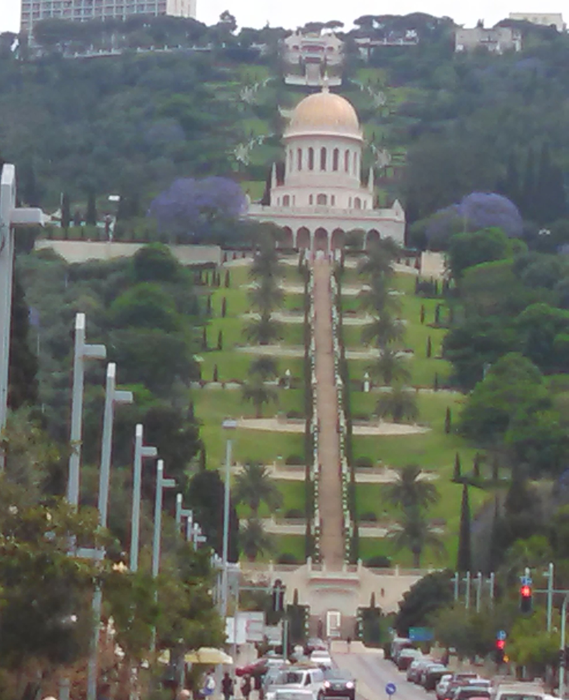 Bahai Gardens from German Colony