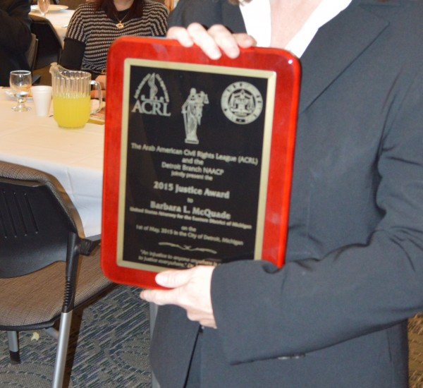 1st Annual Justice Award Tribute Announcements, AP, NEWS, Detroit, ACRL,cnn, msnbc,foxnews, arab american,
